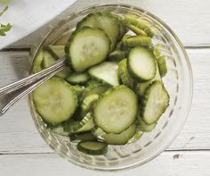 Make your own crunchy pickles that are dill-iously good.