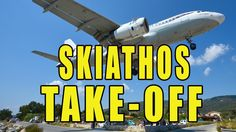 Watch This Amazing Video Of Thomas Cook Plane Taking Off From Skiathos A...
