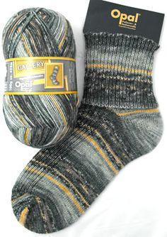 Opal Sock Yarn Gallery 8886 Pioneering Locomotive