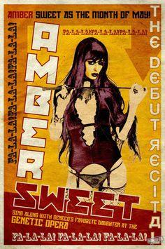amber sweet.