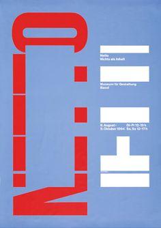 """garadinervi:  """" Georg Staehelin, Museum für Gestaltung Basel, 1994  """""""