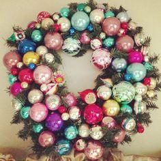 My Christmas wreath-2012