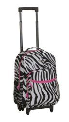c03f1013dd Rockland Luggage 17 Inch Rolling Carry-On Backpack
