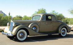 1937 Packard Twelve Coupe Roadster from lifeofexcess