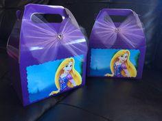 Disney Princess Rampunzel Birthday favor Box by FantastikCreations