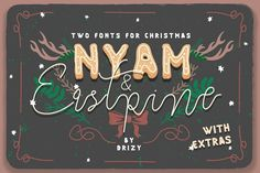 NYAM & Eastpine + Extras by Drizy on @creativemarket