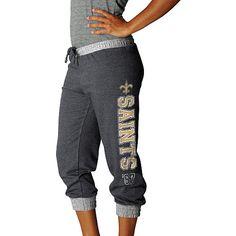 Women's New Orleans Saints Sport Princess Cropped Pant - NFLShop.com
