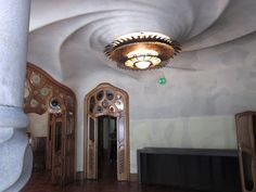 decorology: An art nouveau dream - the whimsical and nature inspired Barcelona home designed by Gaudi