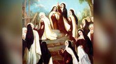 Al día siguiente de la Fiesta de la Virgen del Carmen, recordamos hoy a 16 carmelitas de Compiègne (Francia) que fueron decapitadas por odio a la fe durante la Revolución Francesa, tal como se profetizó 100 años antes de su muerte.