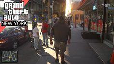 GTA V in Real Life   New York City
