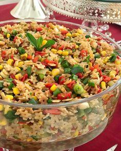 Turkish Salad, Fried Rice, Pasta Salad, Food To Make, Fries, Salads, Food And Drink, Vegetables, Ethnic Recipes