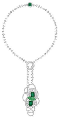 Chaumet. Lumières de l'eau necklace 2014...♡