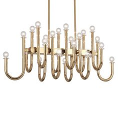 """Polished Brass Finish w/ Lucite Accents  Susp. Hardware: 6 pcs. 5/8"""" X 12"""" & 2 pcs. 5/8"""" X 6"""" Extensions Rods  Direct Wire"""