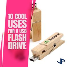 10 Cool Uses for a USB Flash Drive https://www.promokeychain.com/cool-uses-for-usb-flash-drive-a-169.html