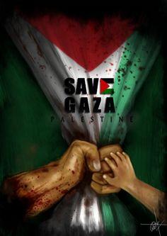 Pray4Gaza by PaintoArt