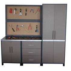 rangement garage on pinterest wire shelving garage. Black Bedroom Furniture Sets. Home Design Ideas