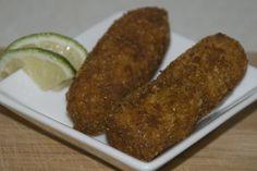 Venezuelan Food - Croquetas de Atún (Tuna Croquettes)