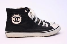 RARE Vintage CHANEL Sneakers at Rice and Beans Vintage