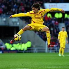 Lazar Markovic scored the only goal in Liverpool narrow win over Sunderland today. This was his first goal in Premier League since joining last summer from. Premier League News, Premier League Soccer, English Premier League, Liverpool Players, Liverpool Football Club, Liverpool Fc, Live Matches, You'll Never Walk Alone, Soccer News