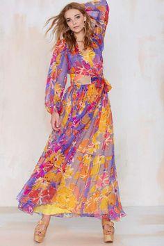 Vintage Givenchy Anzia Chiffon Silk Dress - Dresses