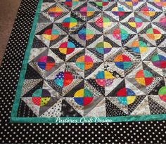 """For one fullyear my quilt group of twelve fun ladiesexchanged 6 1/2"""" squares of black on white, and white on black fabrics. At the end of ..."""