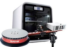CubePro Duo 3D Printer & David Scanner with Automatic Turntable Bundle Offer