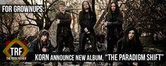 KORN announce new album, THE PARADIGM SHIFT for October 1...