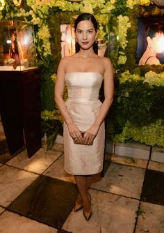 """Fugs and Fabs: The Bulgari """"Decades of Glamour"""" Party Olivia Munn – Go Fug Yourself"""
