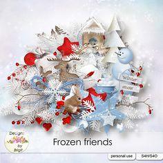 Frozen Friends kit by Designs by Brigit