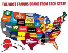 The most famous brand each state has created… Oh, how I miss Great Harvest Bread!!!