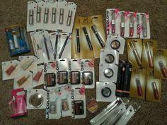 My Dollar Tree Makeup Dollar Tree Makeup, Dollar Tree Haul, Dollar Tree Store, Dollar Stores, Beginner Makeup Kit, Makeup For Beginners, Discount Cosmetics, Makeup Gift Sets, Makeup Haul