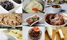 idei de meniu pentru Craciun si Revelion Cream Cake, Ice Cream, Delish Cakes, Trifle, Nutella, Tiramisu, Mousse, Frosting, Cheesecake