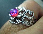 Dragons Breath opal ring... I Love it..