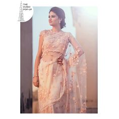 This delicate saree with embellished 3D flowers is the upcoming festive trend of the season. PRICES STARTING FROM AED 200 ONLY at The Dubai Pop-up by BluMuslin on 29th September at Millennium Plaza Hotel Dubai, Sheikh Zayed Road. 3:00pm-10:00pm  #DUBAI #PopUp #Exhibiton #Designer #Blumuslin #fashion #SALE #multidesigner #Webstore #onlinestore #instafashion #luxury #luxurious #instaluxury #shopnow #availablenow #shopping