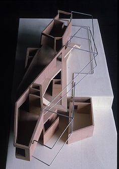Ana Hernández Moreno: CASA VAN BERKEL,BEN Y BOS, CAROLINA Casa Moebius, Amsterdam 1993
