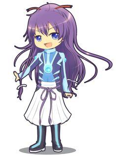 gakupo kawaii Vocaloid, Kaito, Anime Chibi, Manga Anime, Long Purple Hair, Gakupo Kamui, Kawaii, Samurai, Fictional Characters