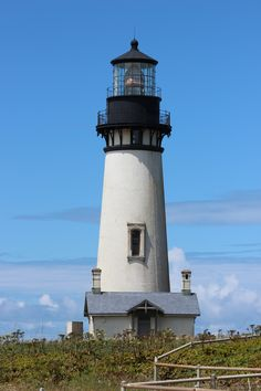 Light House in Newport, Or