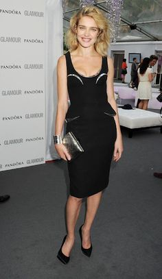 Natalia Vodianova in Versace - 2012 Glamour Women of The Year Awards