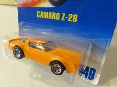 Hot Wheels Camaro Z28 449 Orange