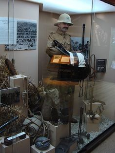 Display at the Army Museum Waiouru