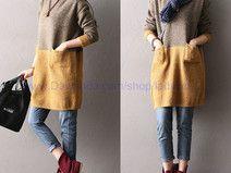 Spleißen Lose Pullover
