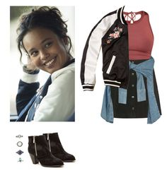 Jessica Davis - 13 reasons why / 13 rw by shadyannon on Polyvore featuring polyvore fashion style Hollister Co. Lydia Bright Topshop Qupid Forever 21 clothing