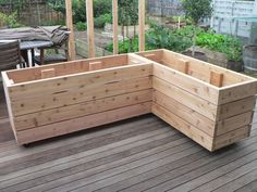 17 Best images about Plant boxes on Pinterest | Raised beds, Diy ...