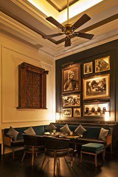 Bombay Brasserie by DesignLSM in London, UK.