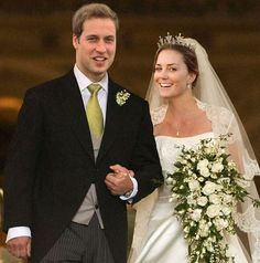 Prince William & Kate at the reception