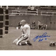 Y.A. Tittle New York Giants Fanatics Authentic Autographed 8'' x 10'' On Knees Sepia Photograph - $59.99
