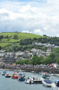 The lovely town of Dartmouth in Devon, UK, a really gorgeous place to visit full of maritime history