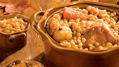 Fèves au lard Baked Beans, Yummy Food, Delicious Recipes, Macaroni And Cheese, Chili, Meals, Baking, Vegetables, Breakfast
