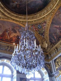 File:Hall of Mirrors, Palace of Versailles chandelier.JPG