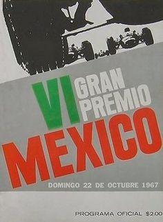 Mexican Grand Prix 1967 programme